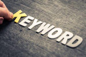 keyword use